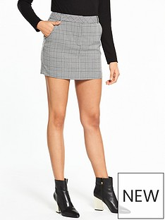 miss-selfridge-check-a-line-skirt-mononbsp