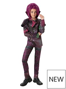 disney-descendants-deluxe-mal-costume-amp-wig-with-free-book
