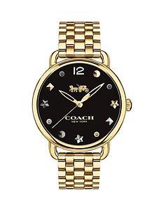 coach-coach-delancy-black-dial-gold-plated-steel-bracelet-ladies-watch