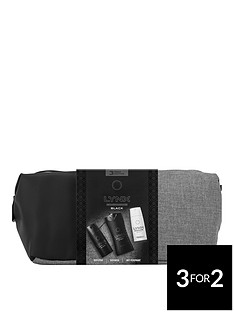lynx-black-washbag-gift-set