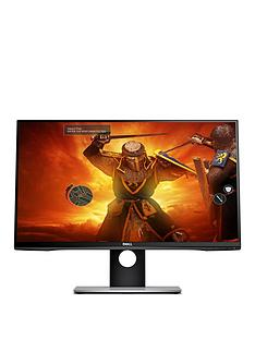 dell-s2716dg-27in-qhd-tn-144hz-1ms-nvidia-g-sync-display-port-usb-30-widescreen-led-gaming-monitor-3-yrs-warranty-black