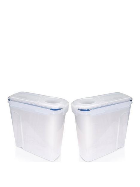 addis-clip-amp-close-4-litre-cereal-food-storage-containers-ndash-set-of-2