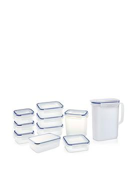 Addis Clip &Amp; Close 10-Piece Food Storage Container Set Review thumbnail