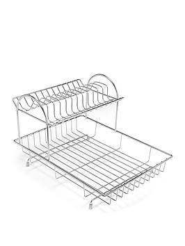 addis-2-tier-dish-draining-rack