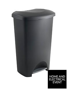 addis-50-litre-pedal-bin-in-black