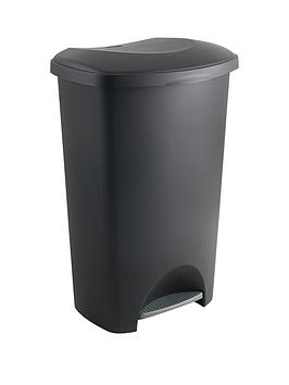 Addis 50 Litre Pedal Bin, Black Review thumbnail