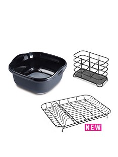 addis-addis-premium-washing-up-3pcs-set-with-wireware-black-grey