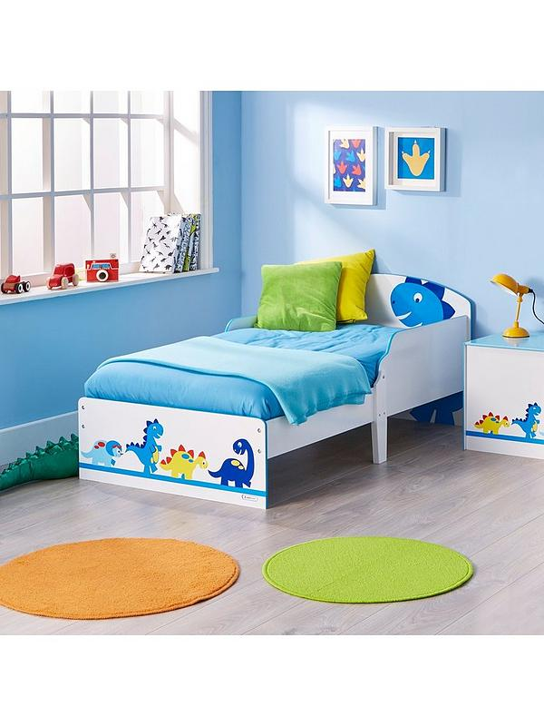 premium selection d8225 4ef9d Dinosaur Toddler Bed by HelloHome