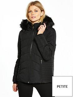 wallis-petite-short-padded-jacket