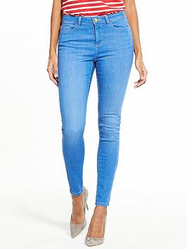 v-by-very-short-denni-mid-rise-skinny-jean-bright-blue