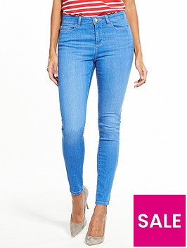 v-by-very-short-denni-mid-rise-skinny-jean-bright-blue