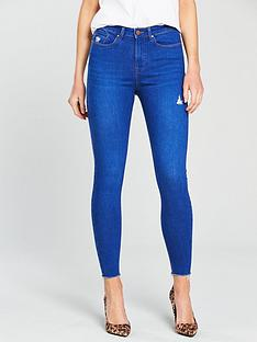 v-by-very-ella-high-waistnbspripped-skinny-jean-bright-bluenbsp