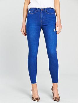 v-by-very-ella-high-waistnbspripped-skinny-jean-bright-bluenbsp
