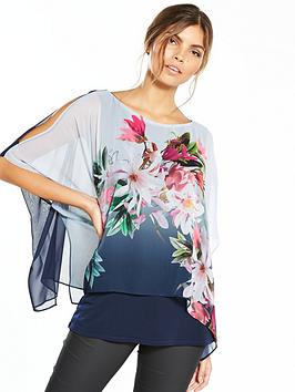 wallis-ombre-floral-overlayer-top