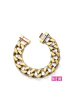 tommy-hilfiger-tommy-hilfiger-ladies-gold-ip-stainless-steel-bracelet