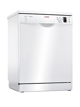 Bosch Serie 2 Sms25Aw00G 12-Place Full Size Dishwasher With Activewater&Trade; Technology - White Best Price, Cheapest Prices