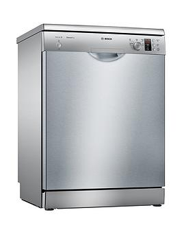 Bosch Serie 2 Sms25Ai00G 12-Place Full Size Dishwasher With Activewater&Trade; Technology - Silver Best Price, Cheapest Prices