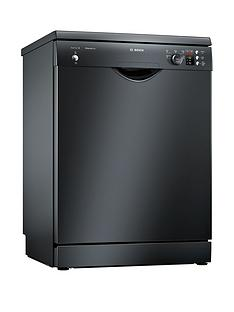 Bosch Serie 2 SMS25AB00G 12-Place Dishwasher with ActiveWater™ Technology - Black Best Price, Cheapest Prices