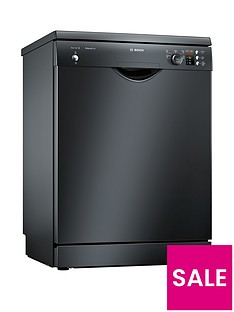 Bosch Serie 2 SMS25AB00G 12-Place Dishwasher with ActiveWater™ Technology - Black