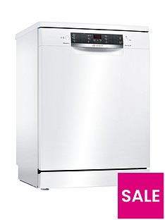 Bosch Serie 4 SMS46IW02G 13-Place Full Size Dishwasher with ActiveWater™ Technology - White Best Price, Cheapest Prices