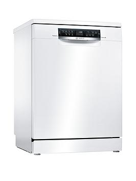 Bosch Series 6 Sms67Mw00G 14-Place Full Size Dishwasher With Perfectdry Technology - White Best Price, Cheapest Prices