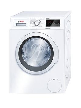 Bosch Serie 4 Wan28201Gb 8Kg Load, 1400 Spin Washing Machine With Ecosilence Drive&Trade; - White