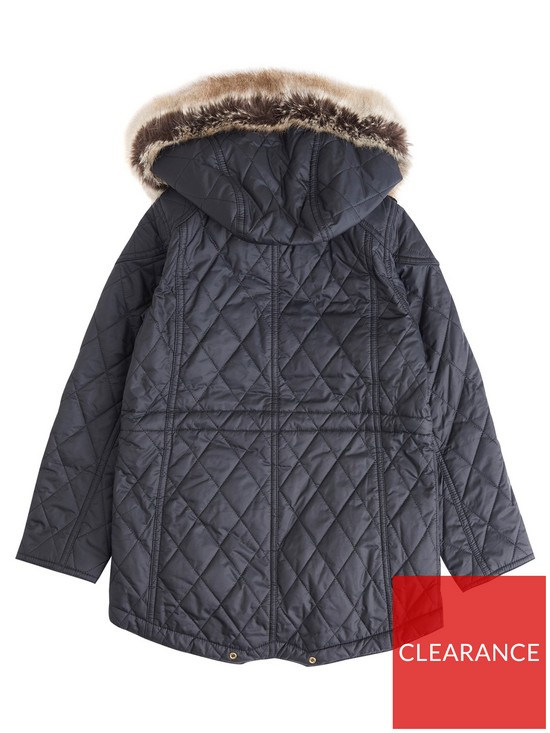 5ff9e510b40c Barbour Girls International Enduro Quilted Jacket