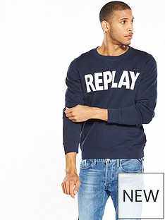 replay-logo-sweatshirt
