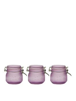 kilner-kilner-frosted-clip-top-jars-set-of-3-05l