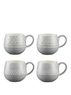 mason-cash-set-of-4-impressions-mugs