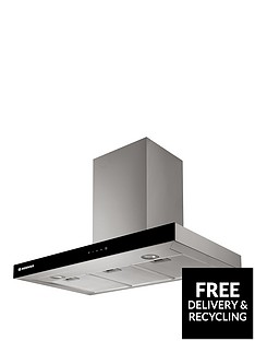 hoover-vanity-hbvs985txnbsp90cm-chimney-cooker-hood-stainless-steel