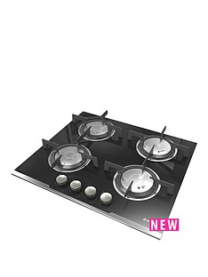 hoover-hgv64sxvb-built-in-60cm-gas-hob-black
