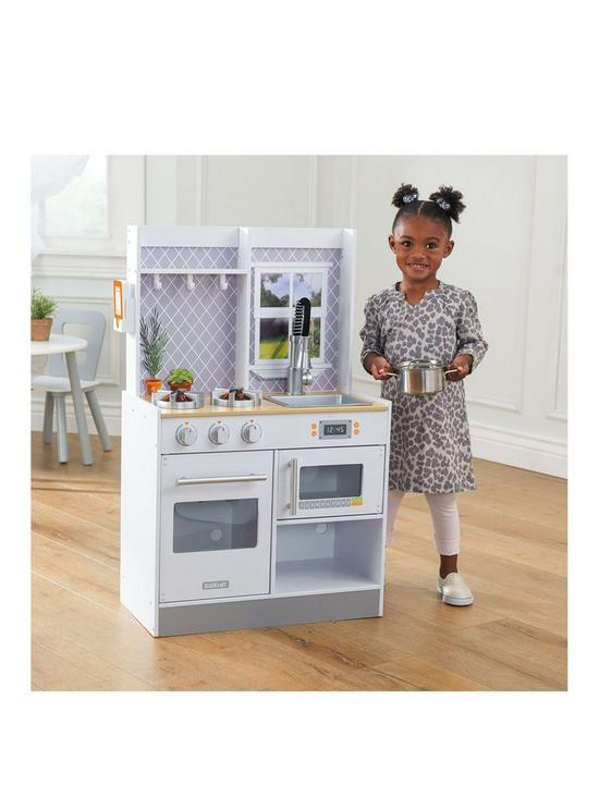 Let S Cook Wooden Play Kitchen