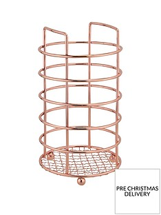 apollo-rose-gold-kitchen-utensil-holder