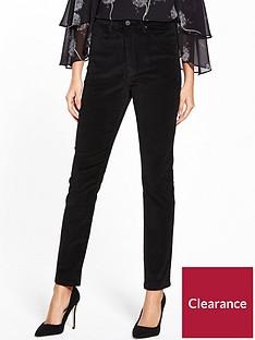 warehouse-velvet-skinny-trouser