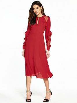 Warehouse bonded daisy lace full dress