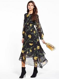 warehouse-carnation-midi-dress