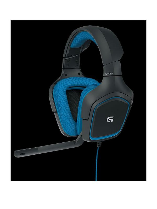c9b6c97215a Logitech Logitech G430 Surround Sound Gaming Headset - PC and PS4 compatible