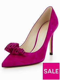 karen-millen-suede-frill-court-heels