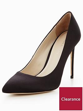karen-millen-satin-court-heels