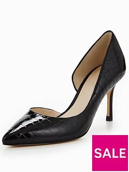 karen-millen-patent-crocnbspkitten-heels