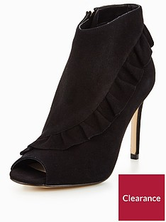 karen-millen-suede-frill-shoe-boots