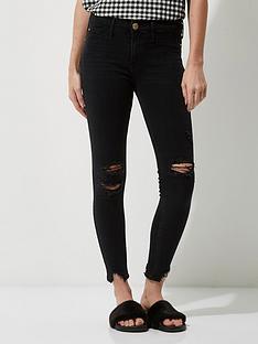 river-island-washed-black-jeans