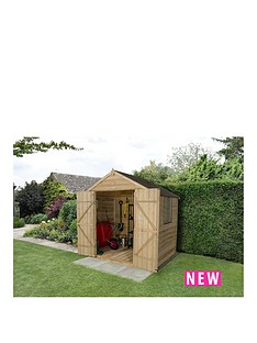 forest-overlap-pressure-treated-7-x-5-foot-apex-double-door-shed