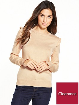 oasis-double-frill-cuff-jumper