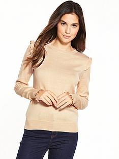 oasis-oasis-double-frill-cuff-jumper