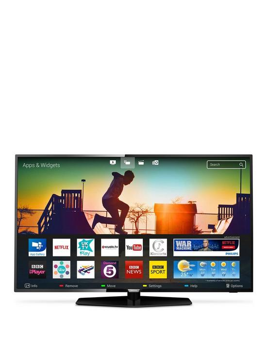 Philips 43PUS6162 43 Inch 4K Ultra HD Certified, HDR, Smart TV with  Freeview HD and Freeview Play 915ea9fbdd43