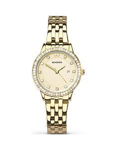 sekonda-sekonda-analogue-gold-plated-stainless-steel-bracelet-ladies-watch