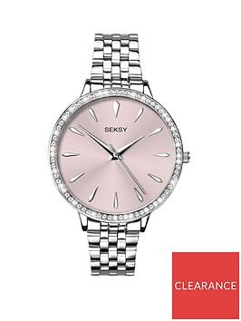 seksy-by-sekondanbspcrystal-set-bezel-pink-dial-ladies-watch