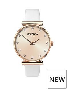 sekonda-sekonda-analogue-stone-set-white-leather-strap-ladies-watch